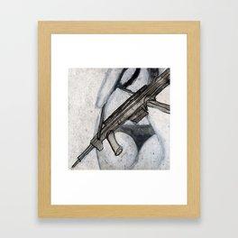 Dangerous Baby Framed Art Print