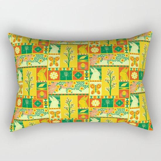 Spring Square Rectangular Pillow