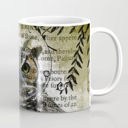 Nature Series Wise Owl By Moon Willow Designs Coffee Mug