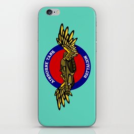 Tank with Wings iPhone Skin