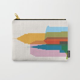 Shapes of Cleveland accurate to scale Carry-All Pouch