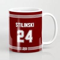 stiles stilinski Mugs featuring Stilinski 24 by slythatheart