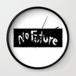 No Future Wall Clock