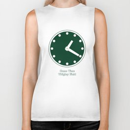 WRIGLEY FIELD SCOREBARD CLOCK IS CHICAGO  GAME TIME game Biker Tank