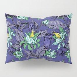 The Sea Garden - deep blue Pillow Sham
