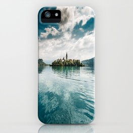 bled lake iPhone Case