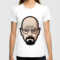 walter white T-shirts featuring Walter White by Joe Bidmead