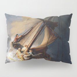The Storm on the Sea of Galilee, Rembrandt Pillow Sham