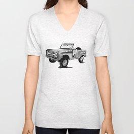 Early Bronco Roadster Unisex V-Neck