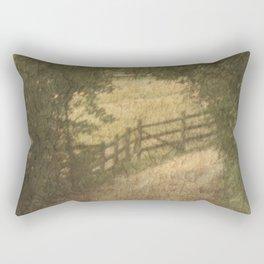 Vintage Landscape 02 Rectangular Pillow