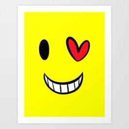 Smile Darling Art Print