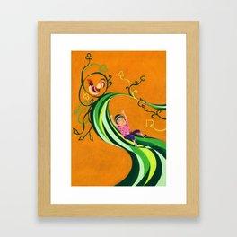 Jack & The Beanstalk Framed Art Print