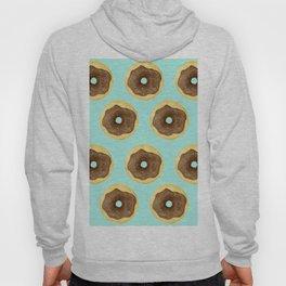 Donut Pattern - Blue Hoody
