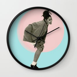 love for the sistah Wall Clock