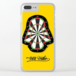 Dart Vader Clear iPhone Case