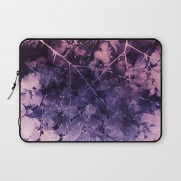 Purple Leaves Dream Laptop Sleeve