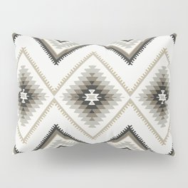 Beige Aztec Pillow Sham