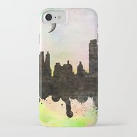 new york iPhone & iPod Cases featuring new York  new York  by mark ashkenazi