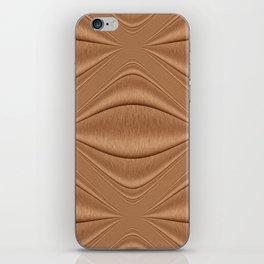 Contour Copper iPhone Skin