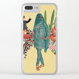 Baghdad nights Clear iPhone Case