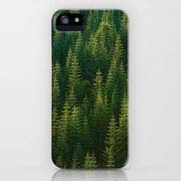 The Green Forest (Color) iPhone Case