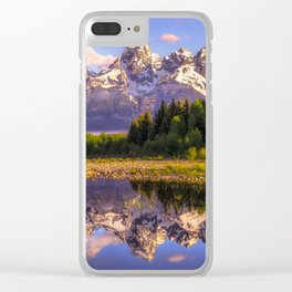Grand Teton National Park Clear iPhone Case
