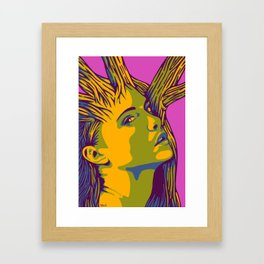 Sleeping Forest 12 Framed Art Print