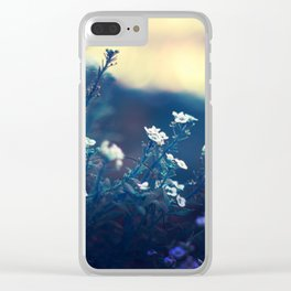 Peaceful Evening Clear iPhone Case