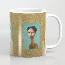 Portrait of Ayaan Hirsi Ali Coffee Mug