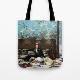 Oriental Lovers Tote Bag