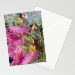 Flower Lily Pads Stationery Cards