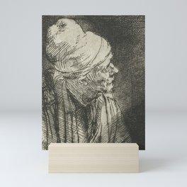 Faust in his Study Mini Art Print