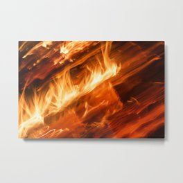 Playing with Fire 15 Metal Print