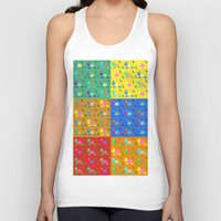 turtles Tank Tops featuring turtles by vitamin