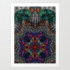 Psychedelic Botanical 16 Art Print