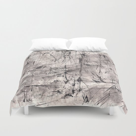 Zen Ink 7 Duvet Cover