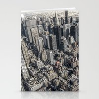 manhattan Stationery Cards featuring Manhattan by Nicklas Gustafsson
