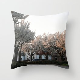 Flower Photography by Veerle Contant Throw Pillow