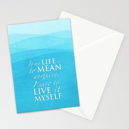 PJO - Live it myself Stationery Cards