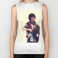 carl sagan Biker Tanks featuring Carl  by ConnorEden
