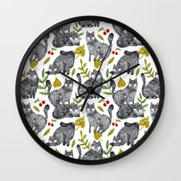 CAT KATZ Wall Clock