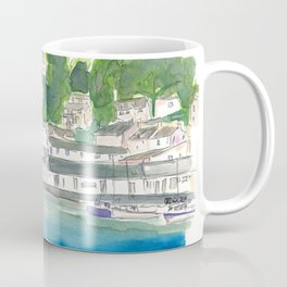 Small Remote Harbour In England Coffee Mug