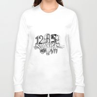numbers Long Sleeve T-shirts featuring Numbers by Ilya kutoboy