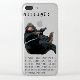 Niffler Clear iPhone Case