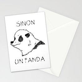 Sinon, un panda (1) Stationery Cards