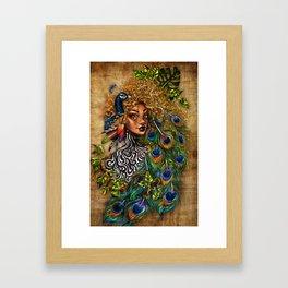 Jungle Queen Framed Art Print