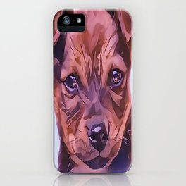 The Airedale Terrier Puppy iPhone Case