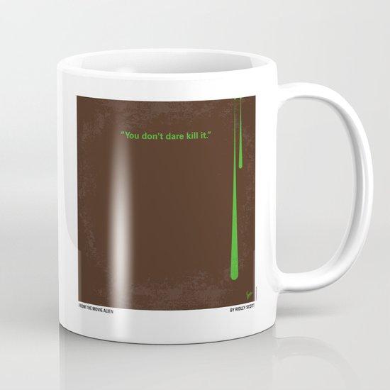 No004 My Alien minimal movie poster Mug