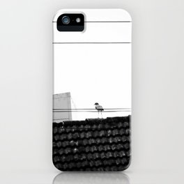 Lonely Bird iPhone Case