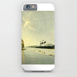 View of Part of the Island of Ulietea iPhone Case
